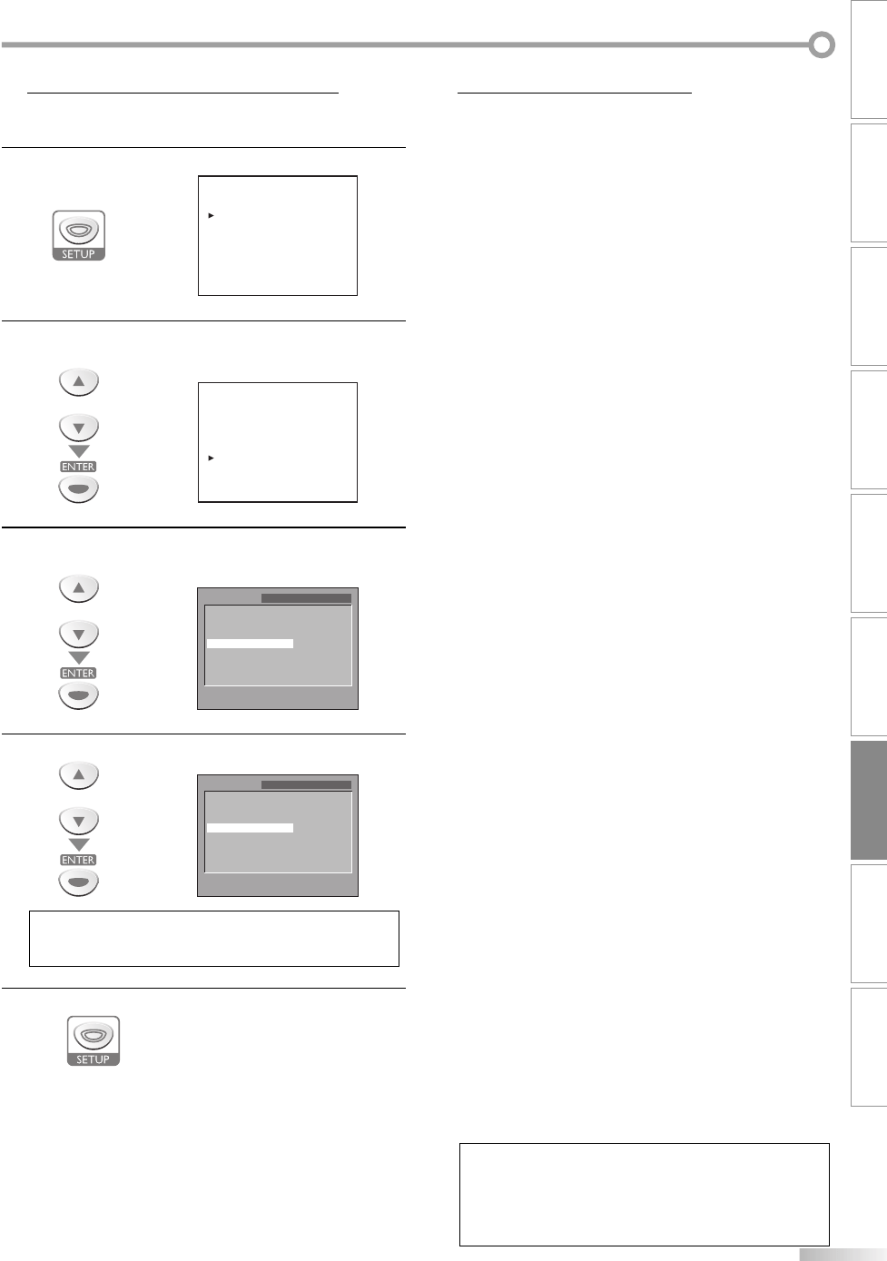Page 43 of Sylvania TV DVD Combo LD200SL8 User Guide