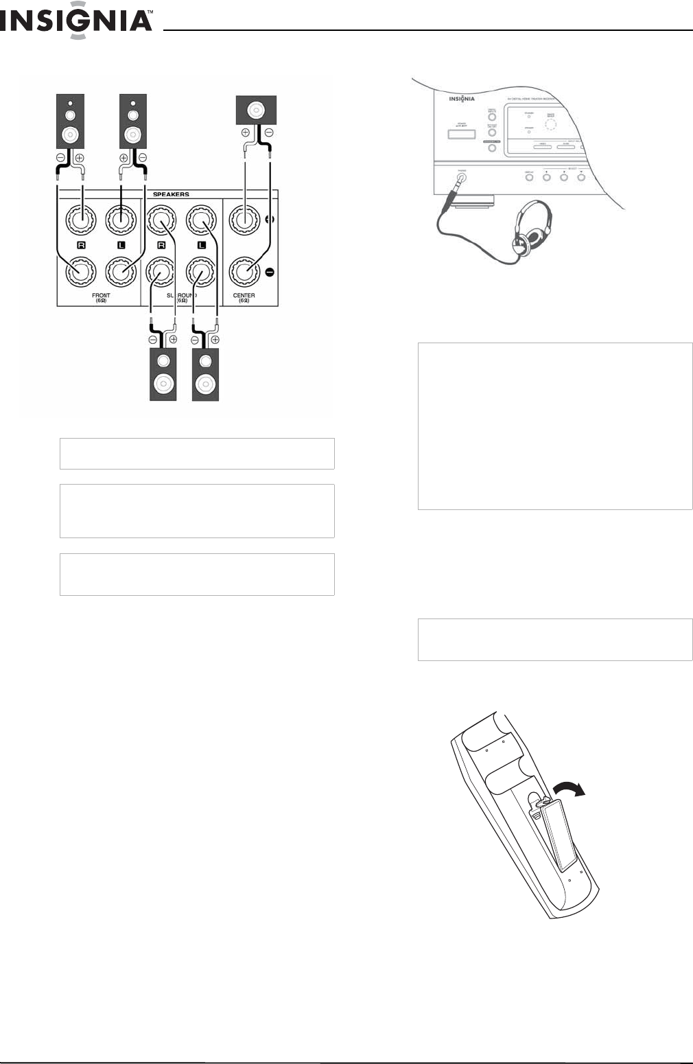 Page 10 of Insignia Stereo Receiver NS-R5100 User Guide