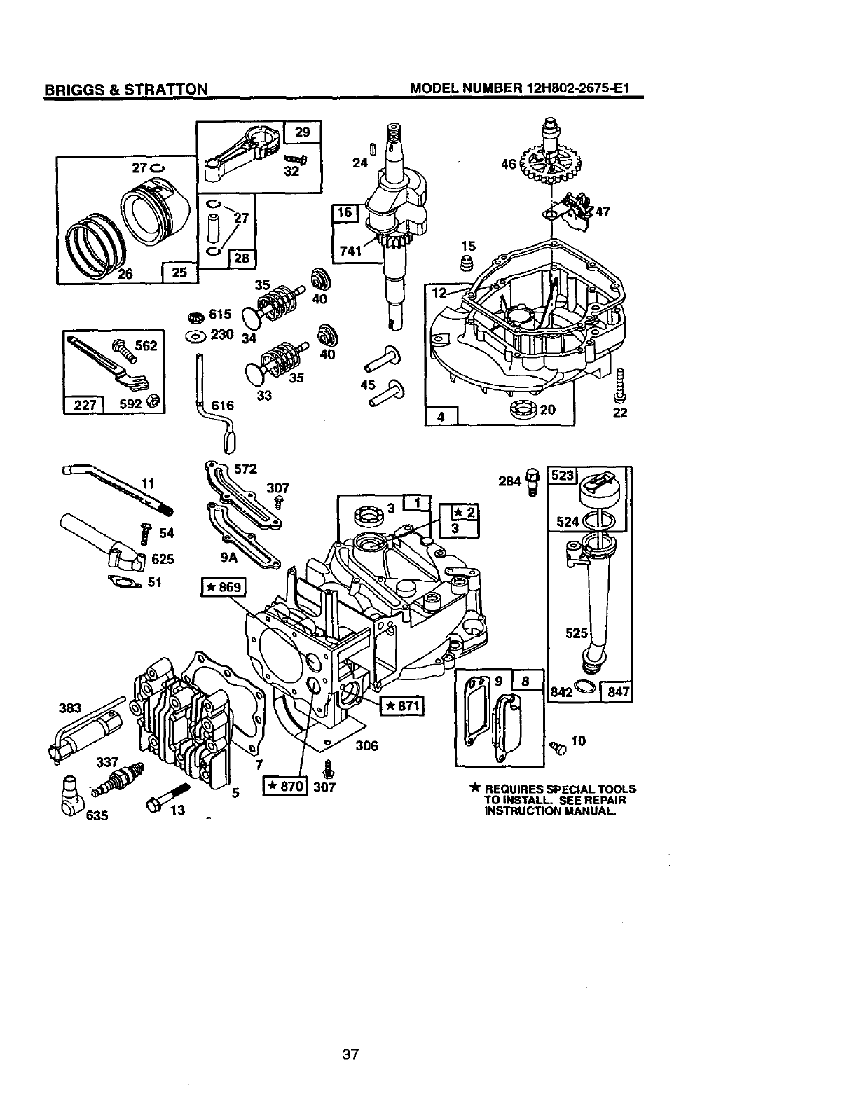 Page 22 of Craftsman Lawn Mower 917.387402 User Guide