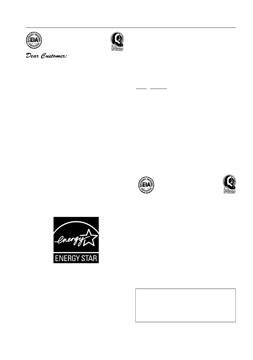 Page 4 of Pioneer Stereo Receiver A6 User Guide
