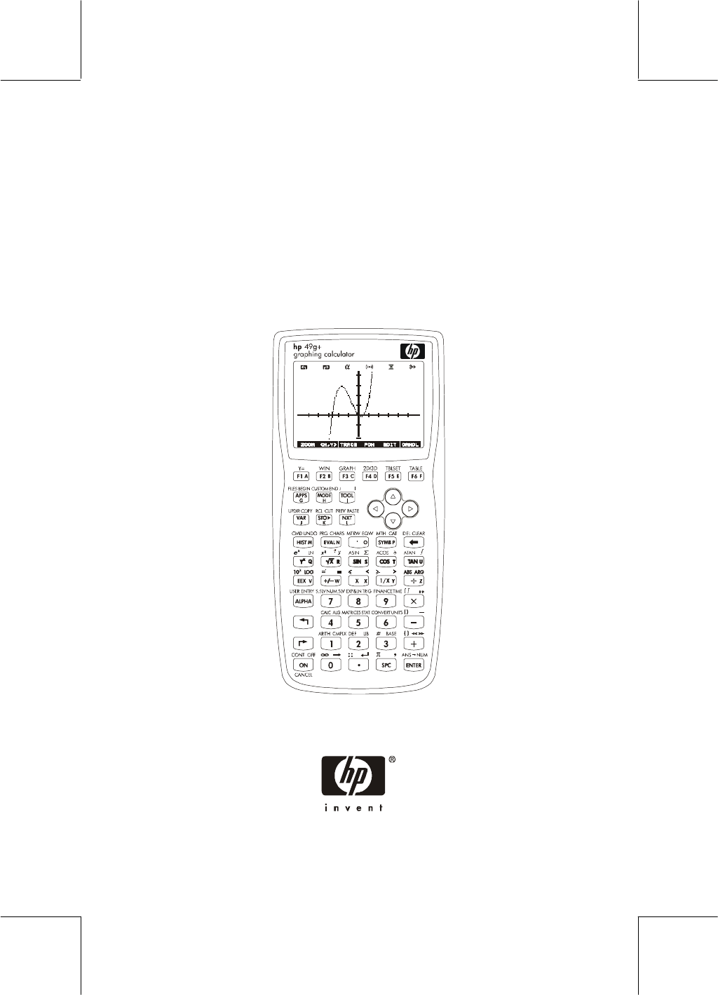 HP (Hewlett-Packard) Calculator hp 49g+ User Guide