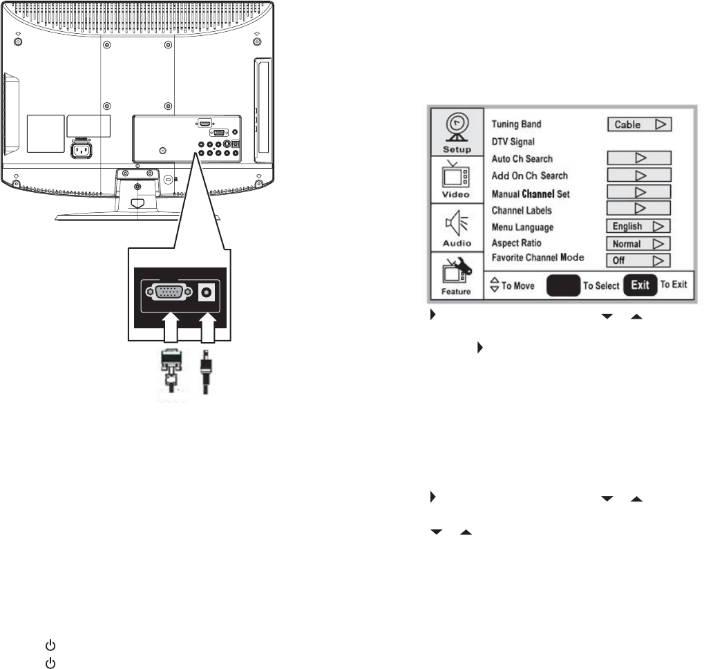 Page 8 of Dynex Flat Panel Television DX-LCD26-09 User