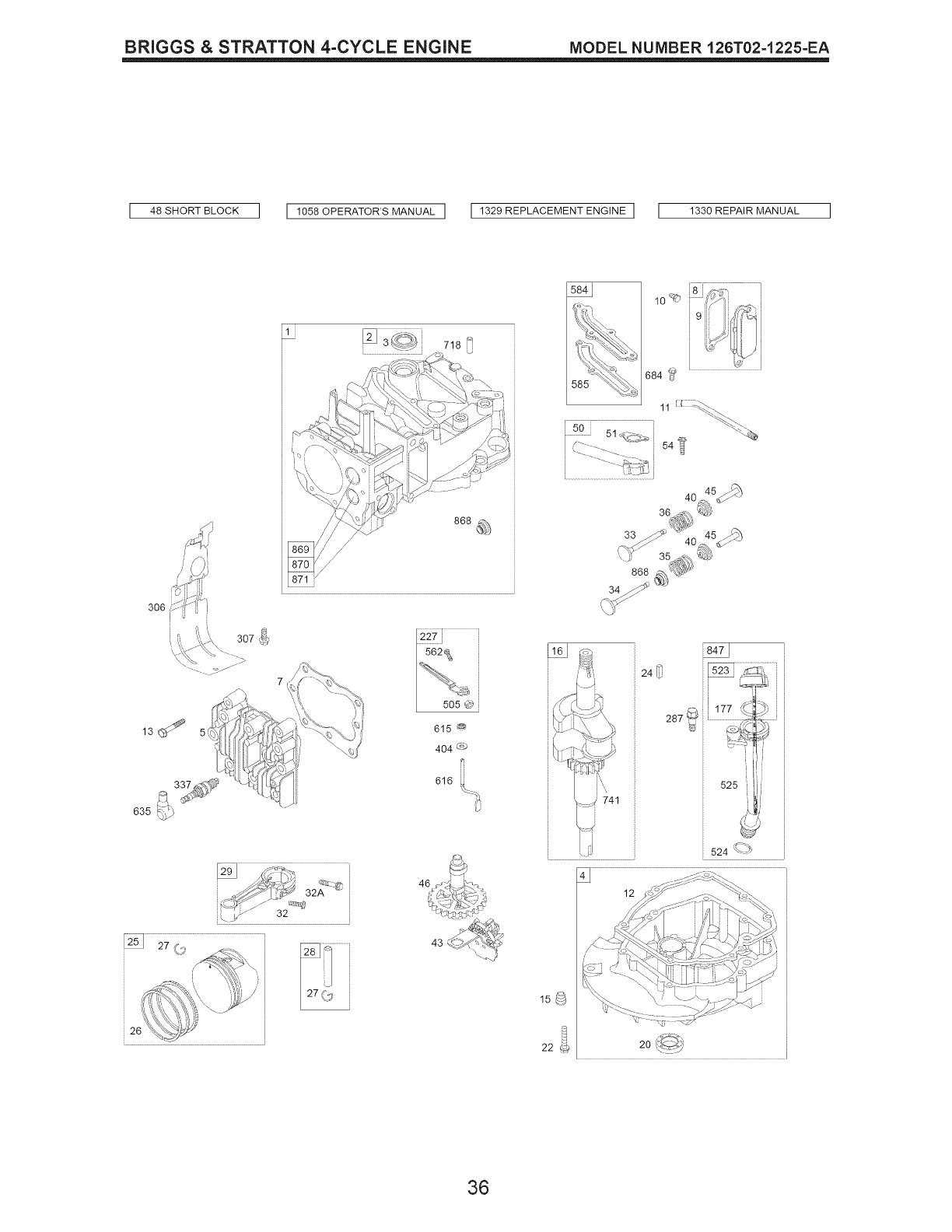 Page 36 of Craftsman Lawn Mower 38905 User Guide