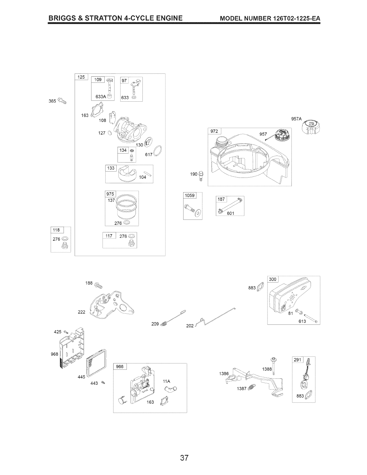 Page 37 of Craftsman Lawn Mower 38905 User Guide