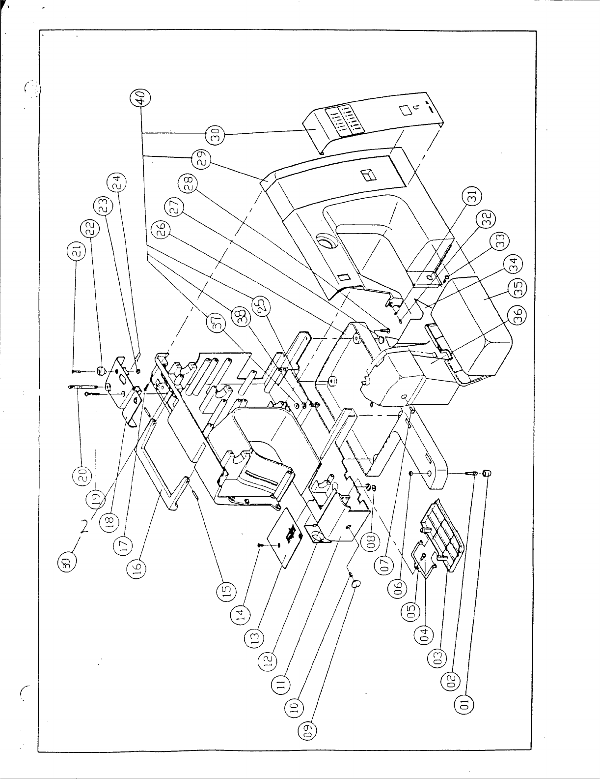 Page 4 of Singer Sewing Machine 1027 User Guide