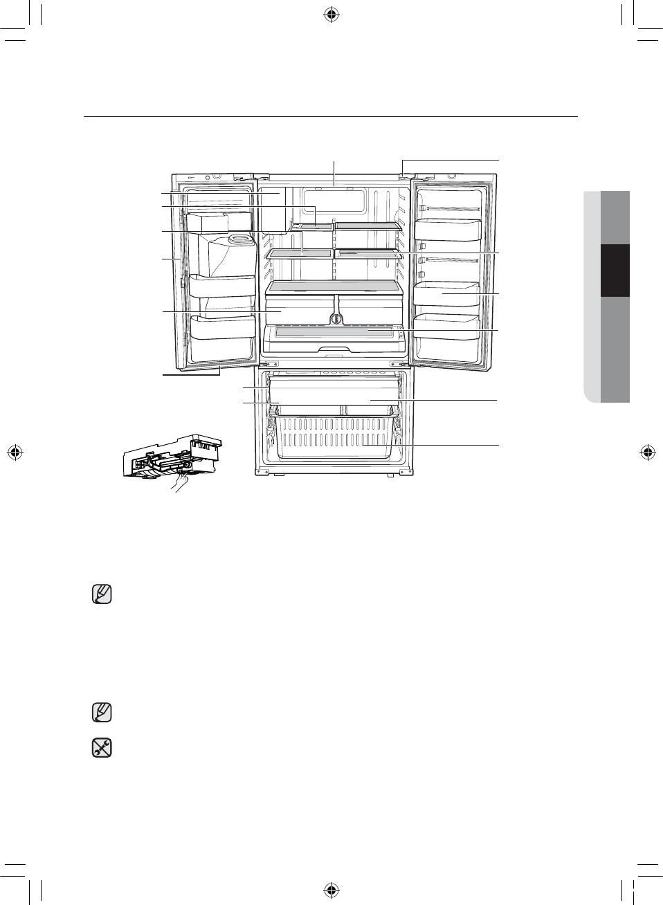Page 53 of Samsung Refrigerator RF263BEAESR User Guide