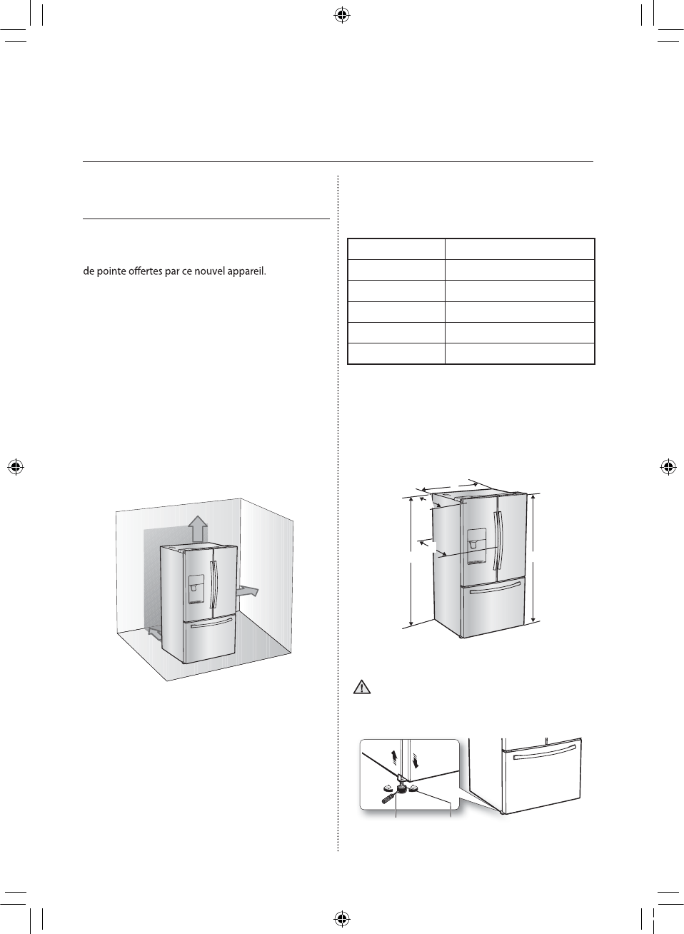 Page 70 of Samsung Refrigerator RF263BEAESR User Guide