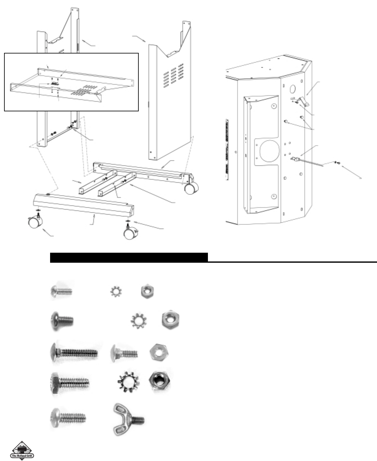 Page 6 of Holland Gas Grill BH421-AG4 User Guide