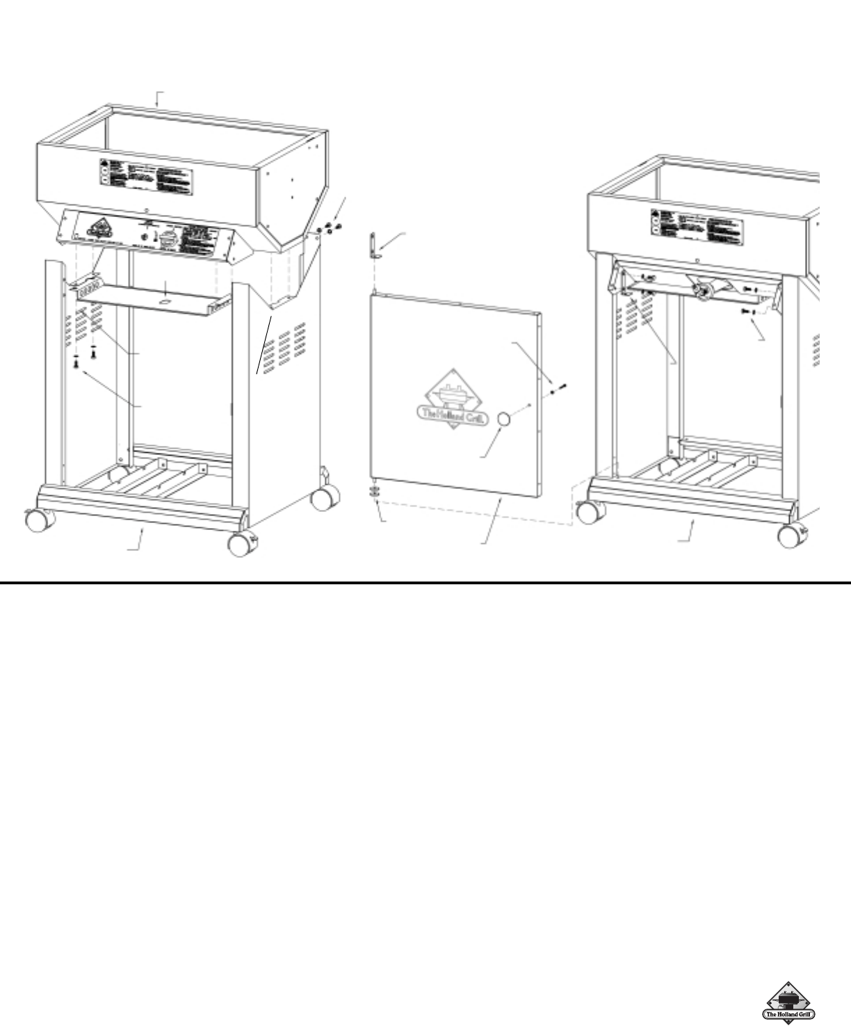 Page 7 of Holland Gas Grill BH421-AG4 User Guide
