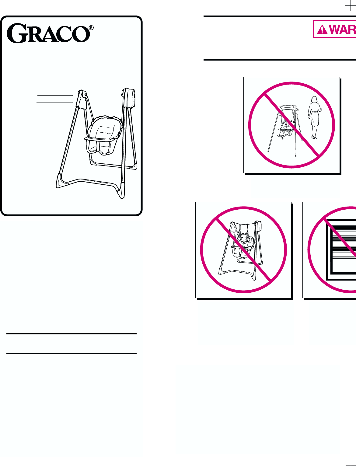 Graco Disney Swing Instructions