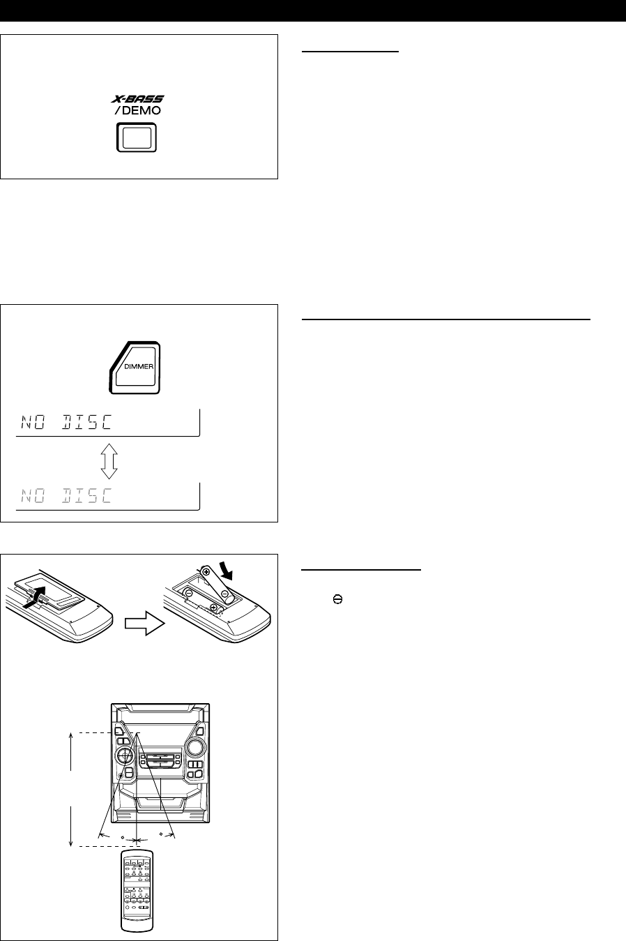 Page 6 of Sharp Stereo System CD-BA200 User Guide
