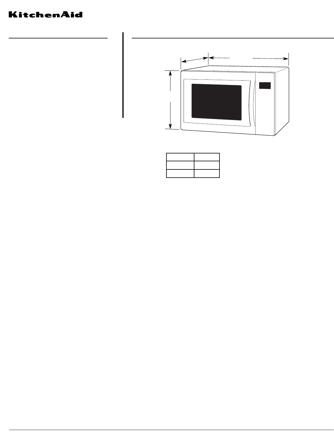 KitchenAid Microwave Oven KCMS1555S User Guide