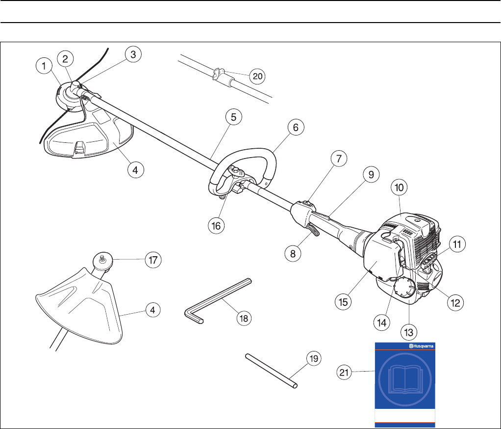 Page 11 of Husqvarna Trimmer 324L User Guide