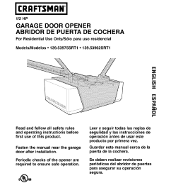 sears 139 53975srt1 garage door opener user manual craftsman garage door opener install instructions craftsman garage door opener diagram [ 1224 x 1584 Pixel ]