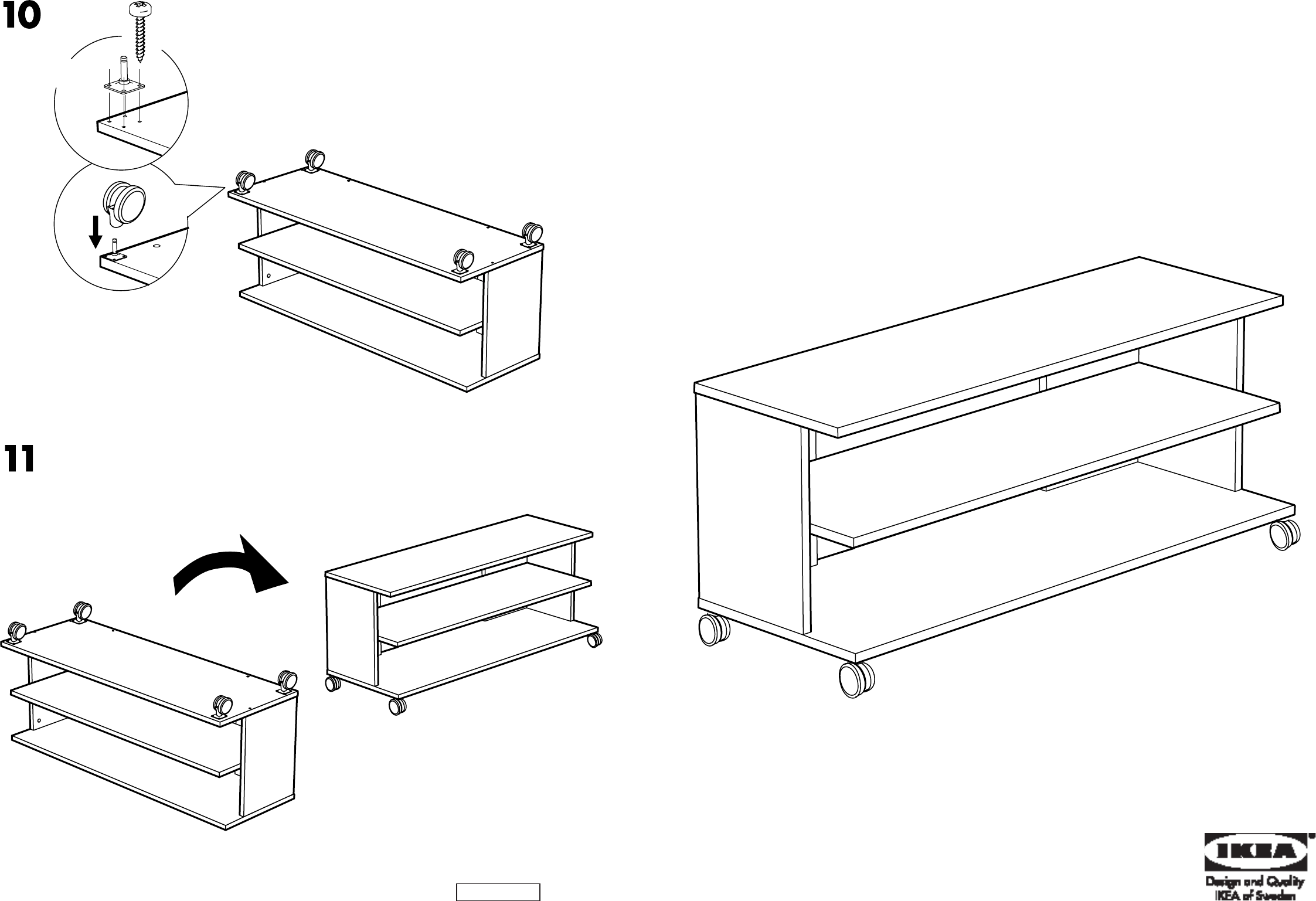 IKEA TV Video Accessories AA-189267-3 User Guide