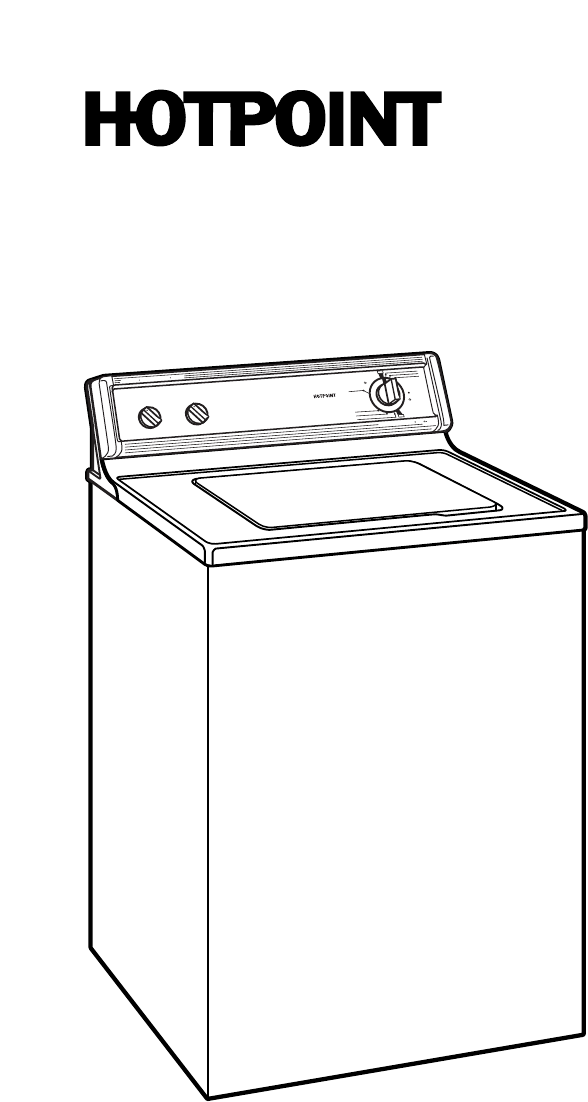 Page 2 of Hotpoint Washer VBXR1070WAA User Guide