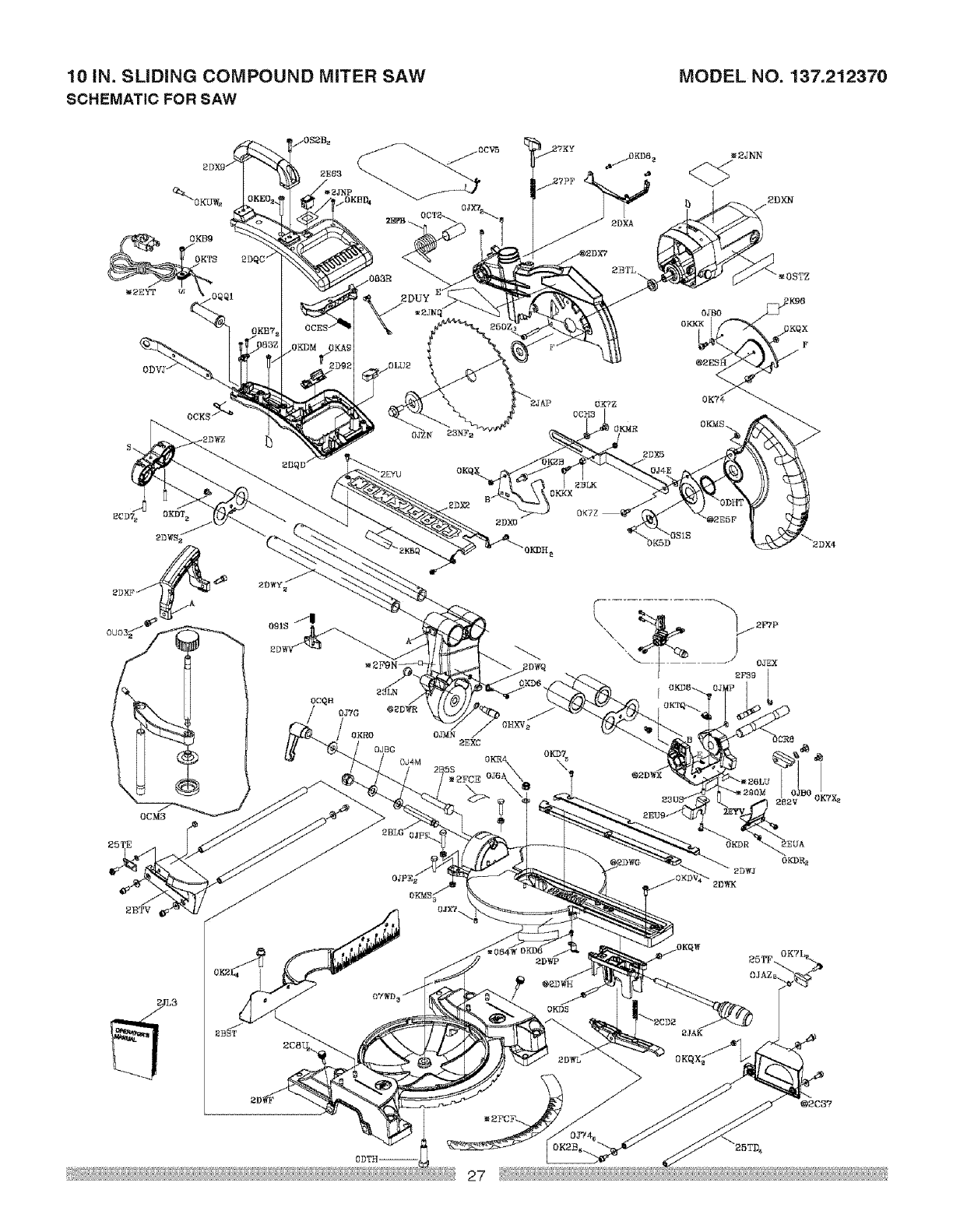 Page 27 of Craftsman Saw 137.21237 User Guide