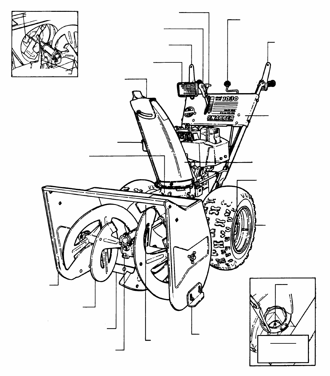 Page 5 of Snapper Snow Blower 9265 User Guide