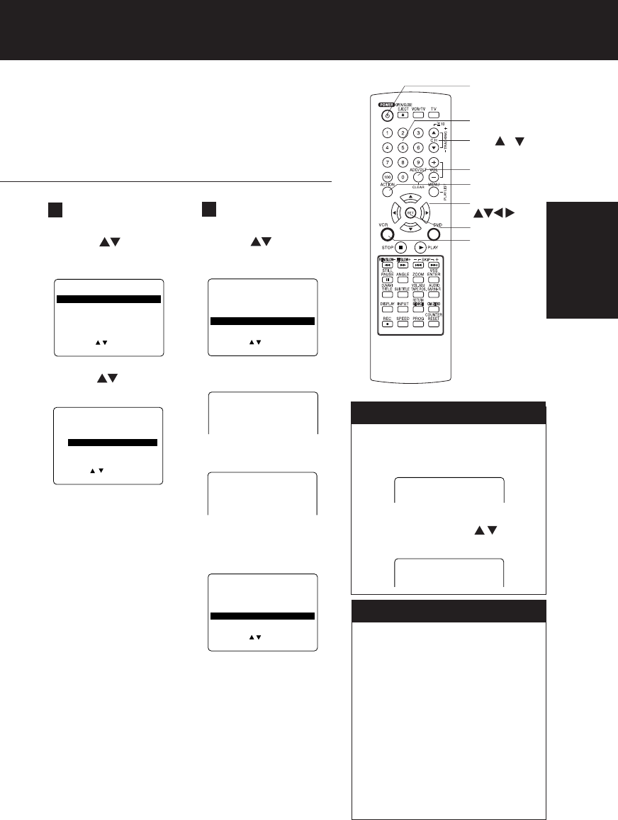 Page 19 of Panasonic DVD VCR Combo PV-D4734S User Guide