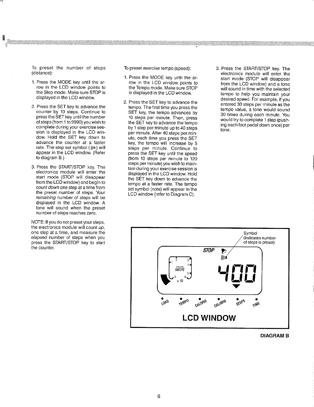 Page 7 of Tunturi Home Security System C406 User Guide
