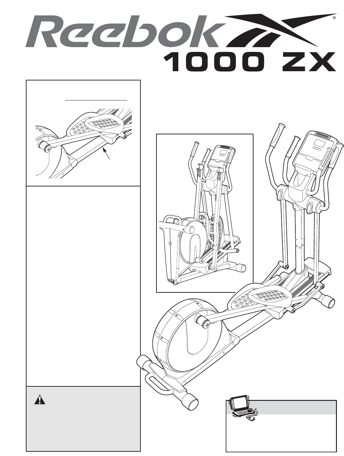 Reebok Fitness Home Gym RBEL9906.1 User Guide