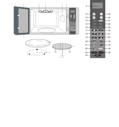 page 7 of emerson microwave oven mwg9111sl user guide [ 1152 x 1535 Pixel ]