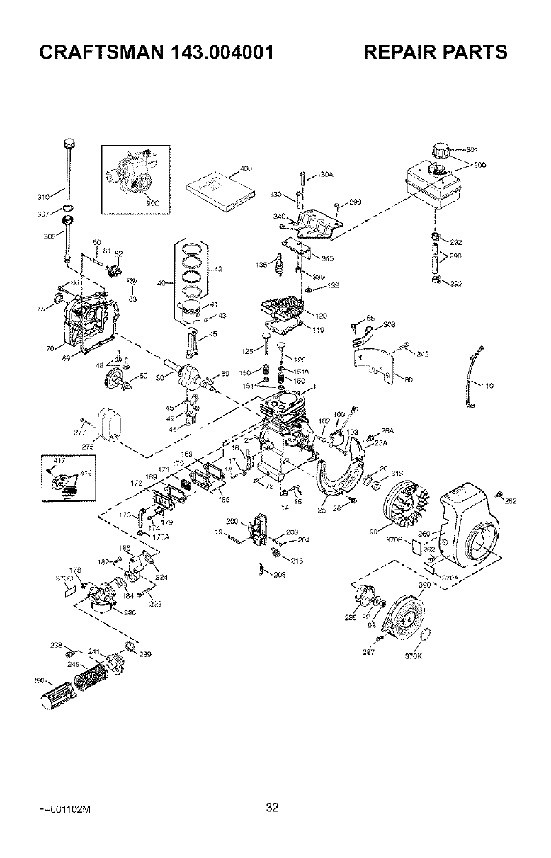 Page 32 of Craftsman Edger 536.772301 User Guide