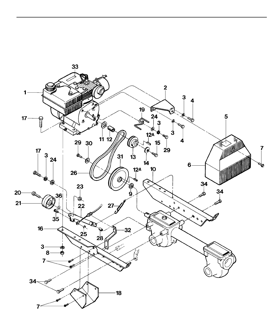Page 6 of Troy-Bilt Tiller 12163 User Guide
