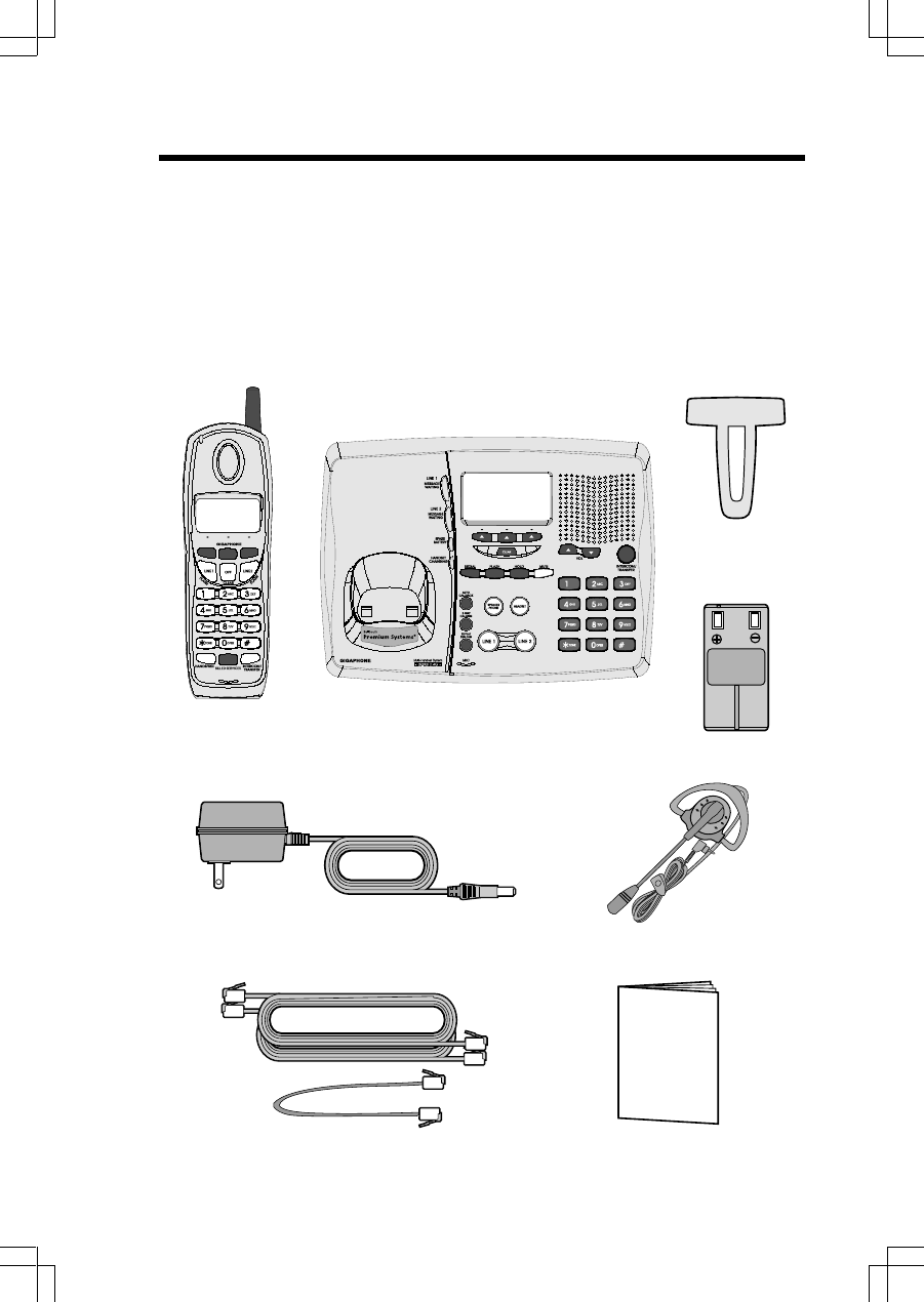 Page 4 of VTech Cordless Telephone 20 User Guide