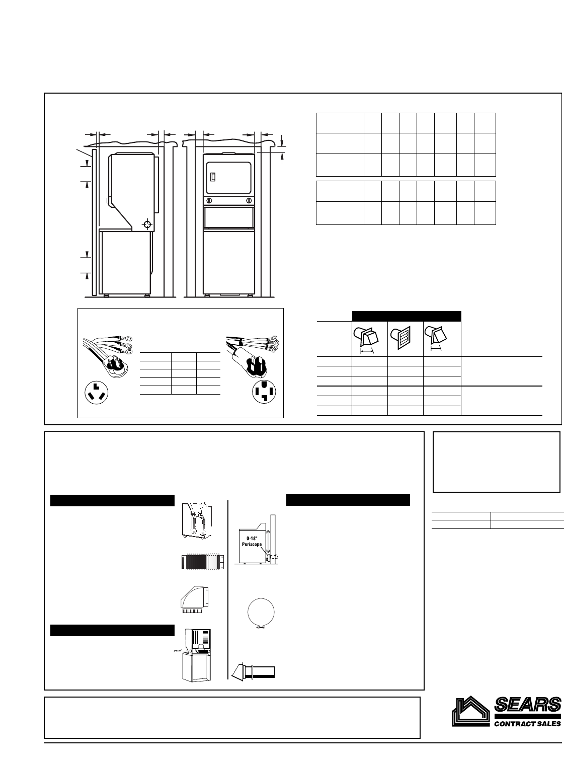 Page 2 of Kenmore Washer/Dryer 26-49182 User Guide
