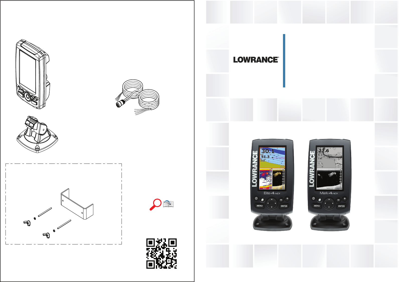 Lowrance electronic Fish Finder ELITE-4HDI User Guide