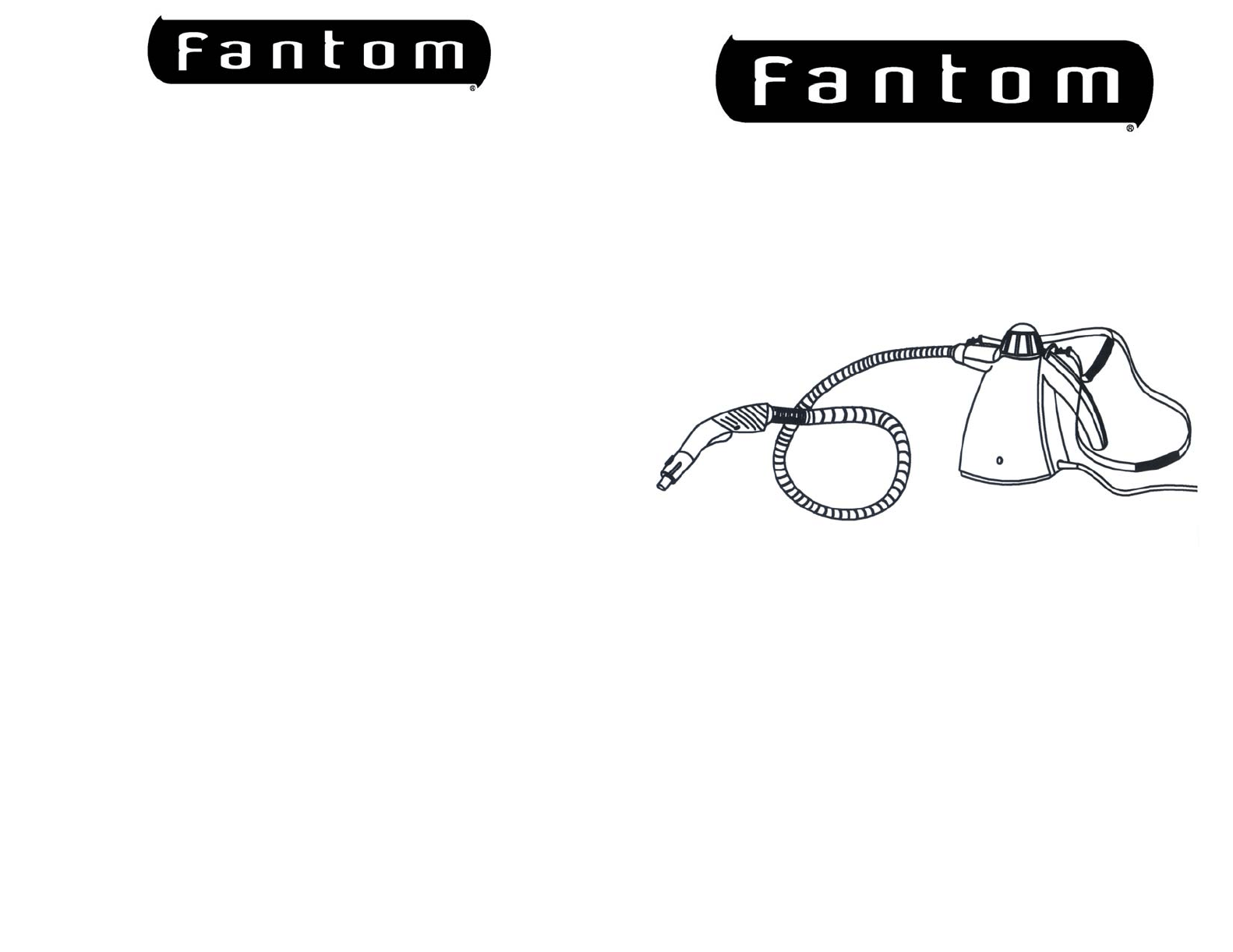 Fantom Vacuum Carpet Cleaner FC905 User Guide