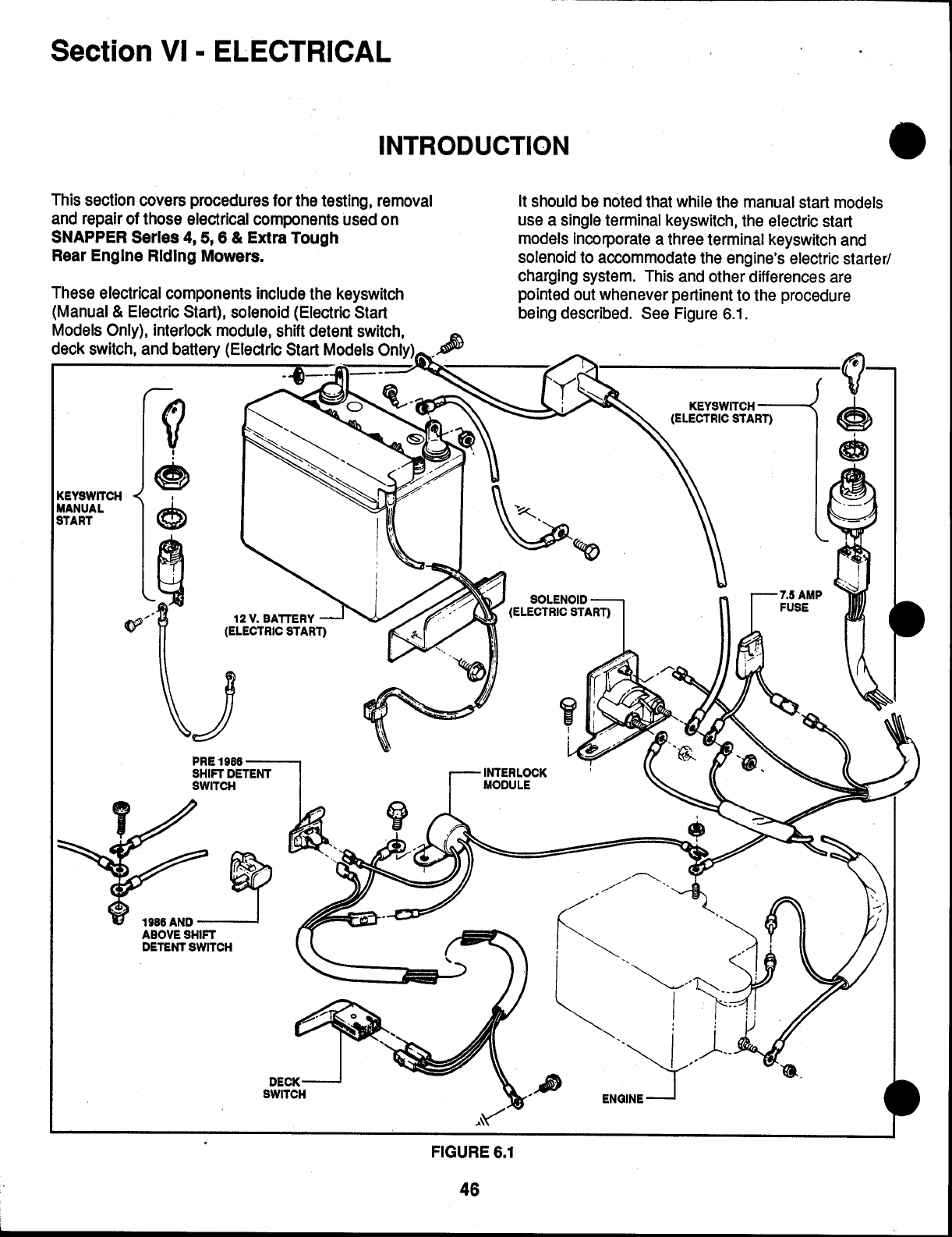 Page 46 of Snapper Lawn Mower SERIE 5 User Guide