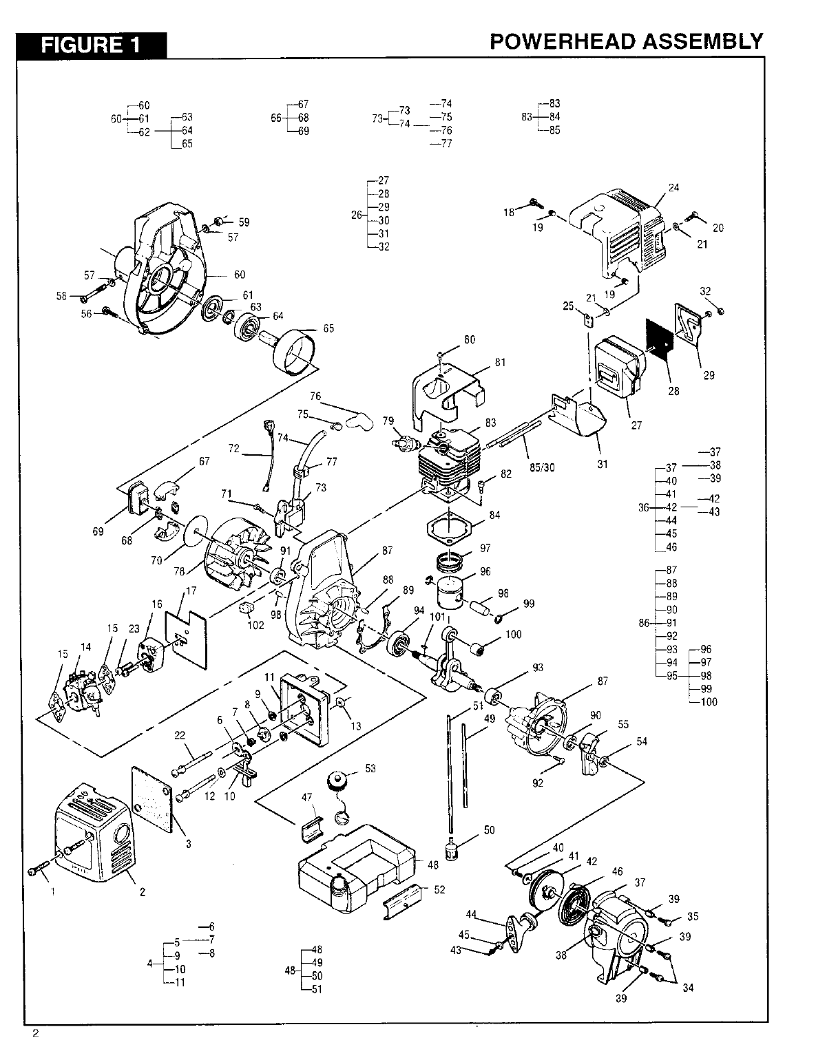Page 3 of Tanaka Trimmer TBC-2400 User Guide