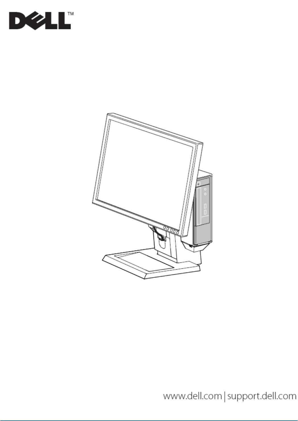 Dell Computer Monitor P User Guide