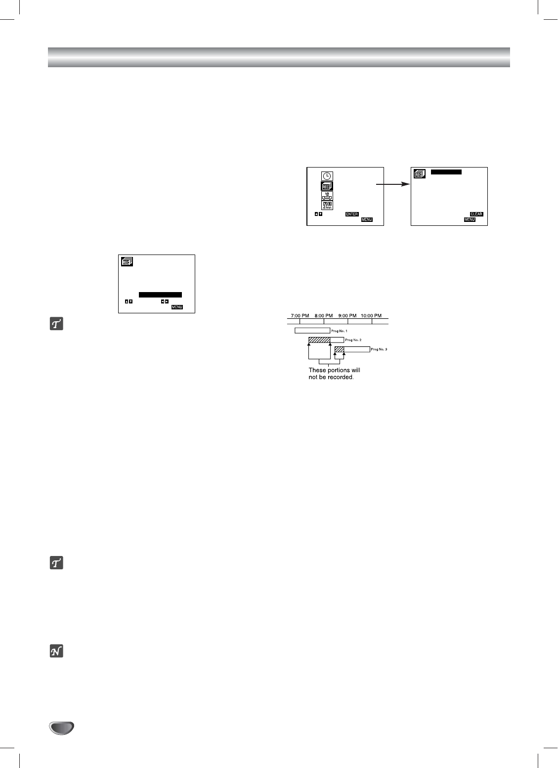 Page 24 of GoVideo DVD VCR Combo DVR 4200 User Guide