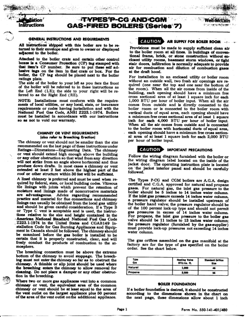 small resolution of weil mclain cgm series 7 boiler user manual