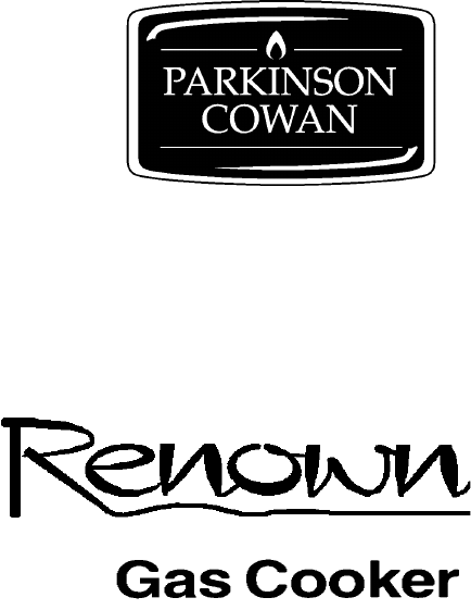 Parkinson Cowan Cooktop Renown GR User Guide