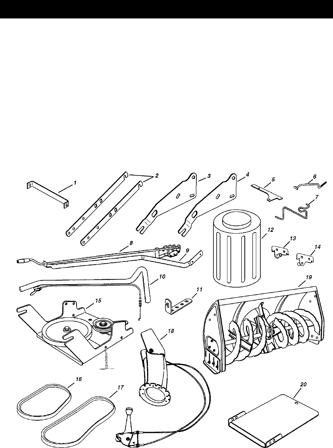 Page 5 of Sears Snow Blower 486.248392 User Guide