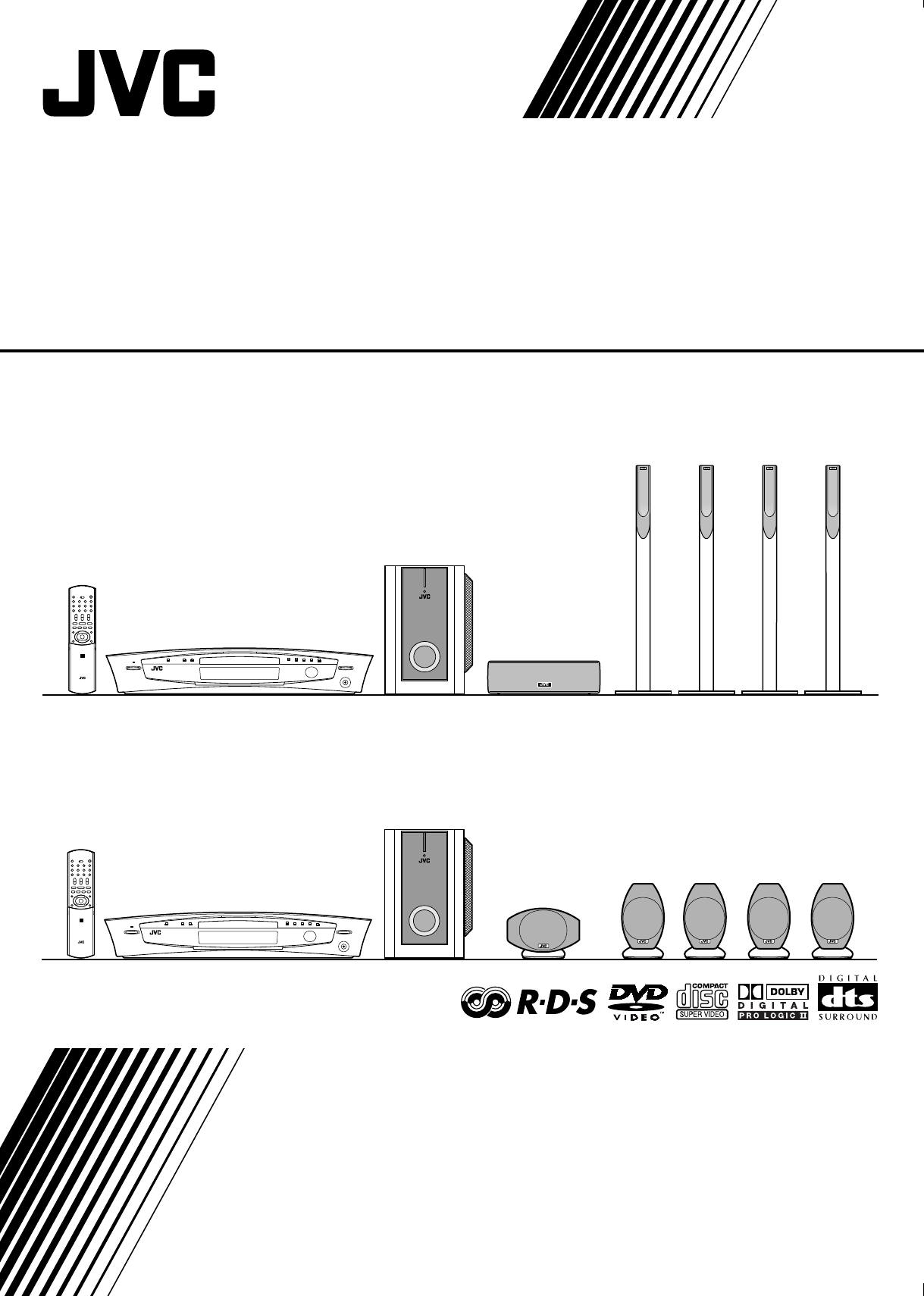 JVC Home Theater System XV-THA55 User Guide