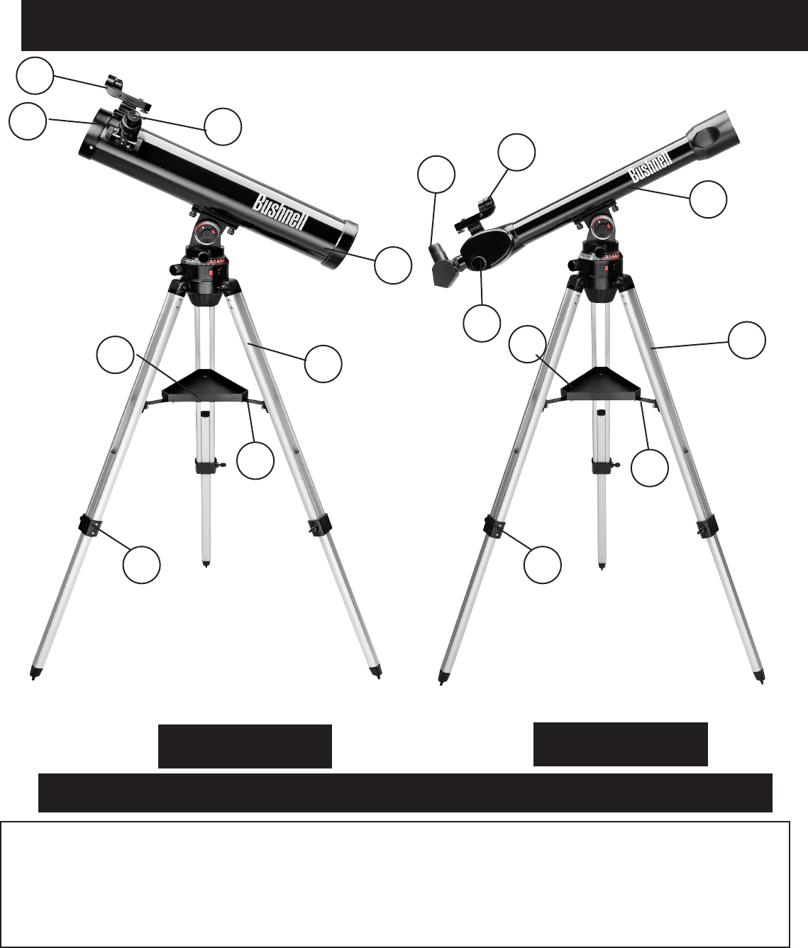 Page 17 of Bushnell Telescope 78-9945 User Guide