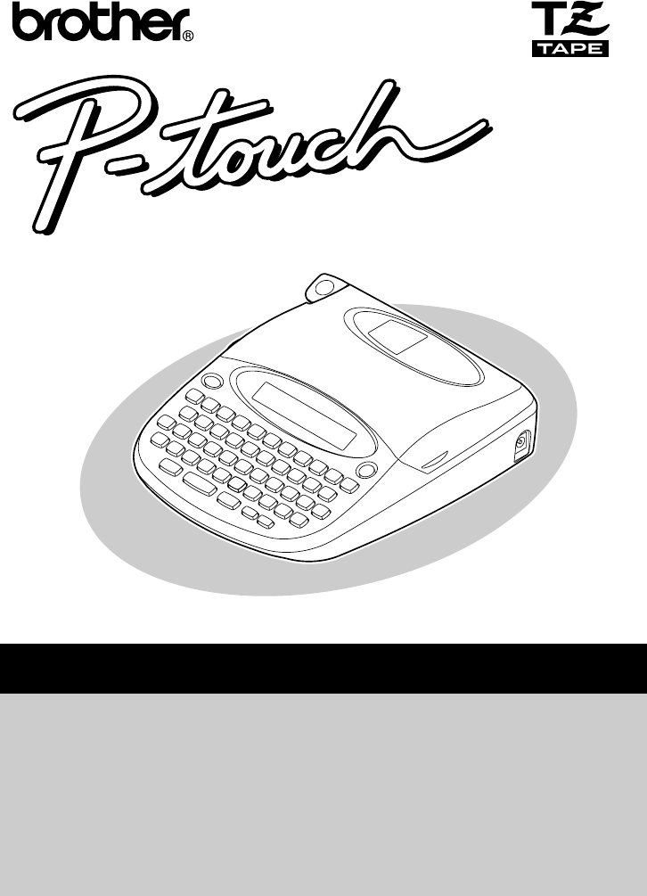 User Manual For Brother Fax-1030e