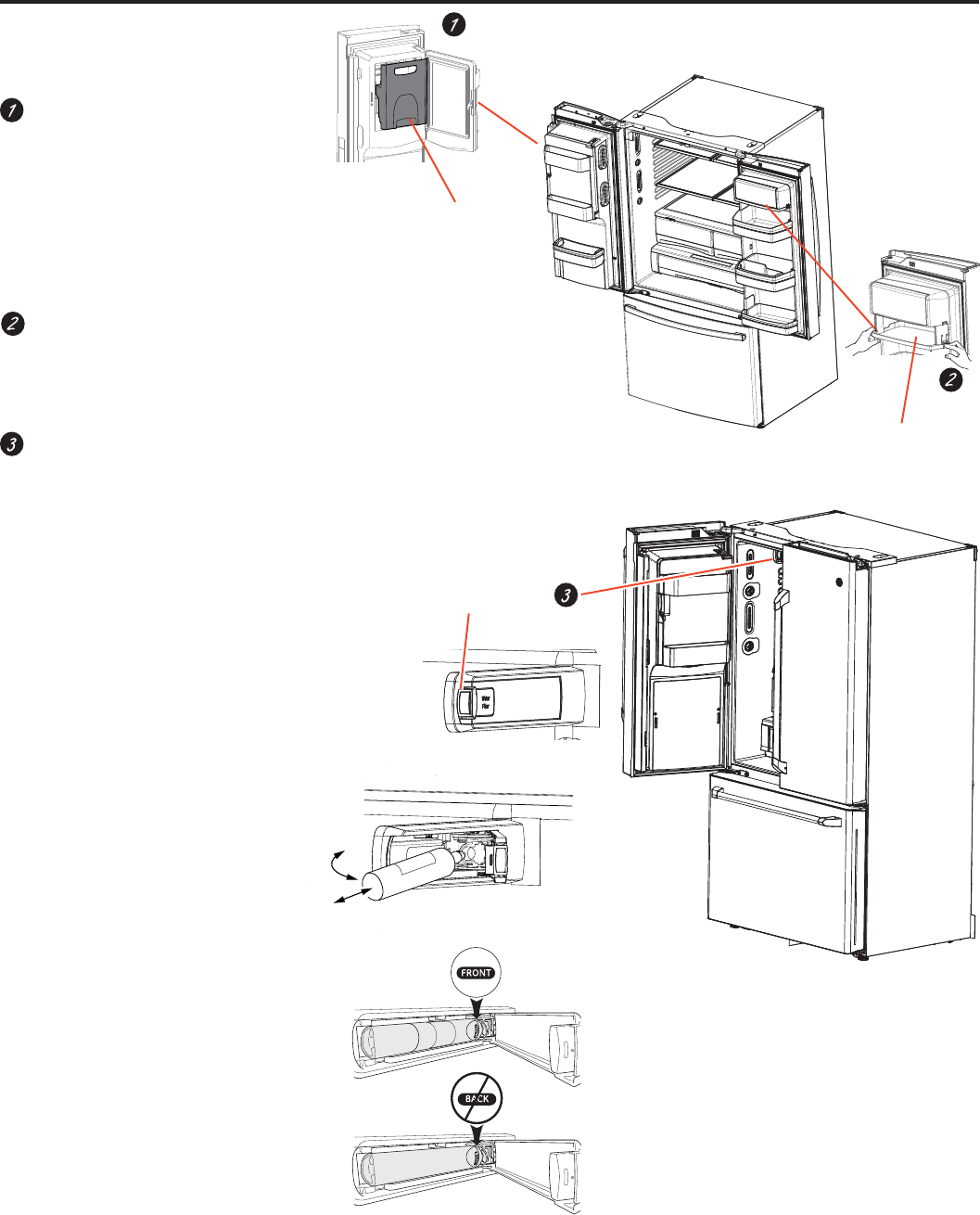Page 5 of GE Refrigerator GFE28HSHSS User Guide