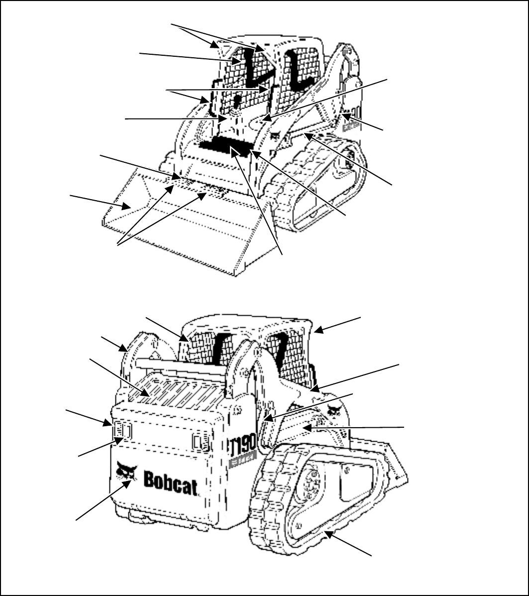 Page 9 of Bobcat Compact Loader T190 User Guide