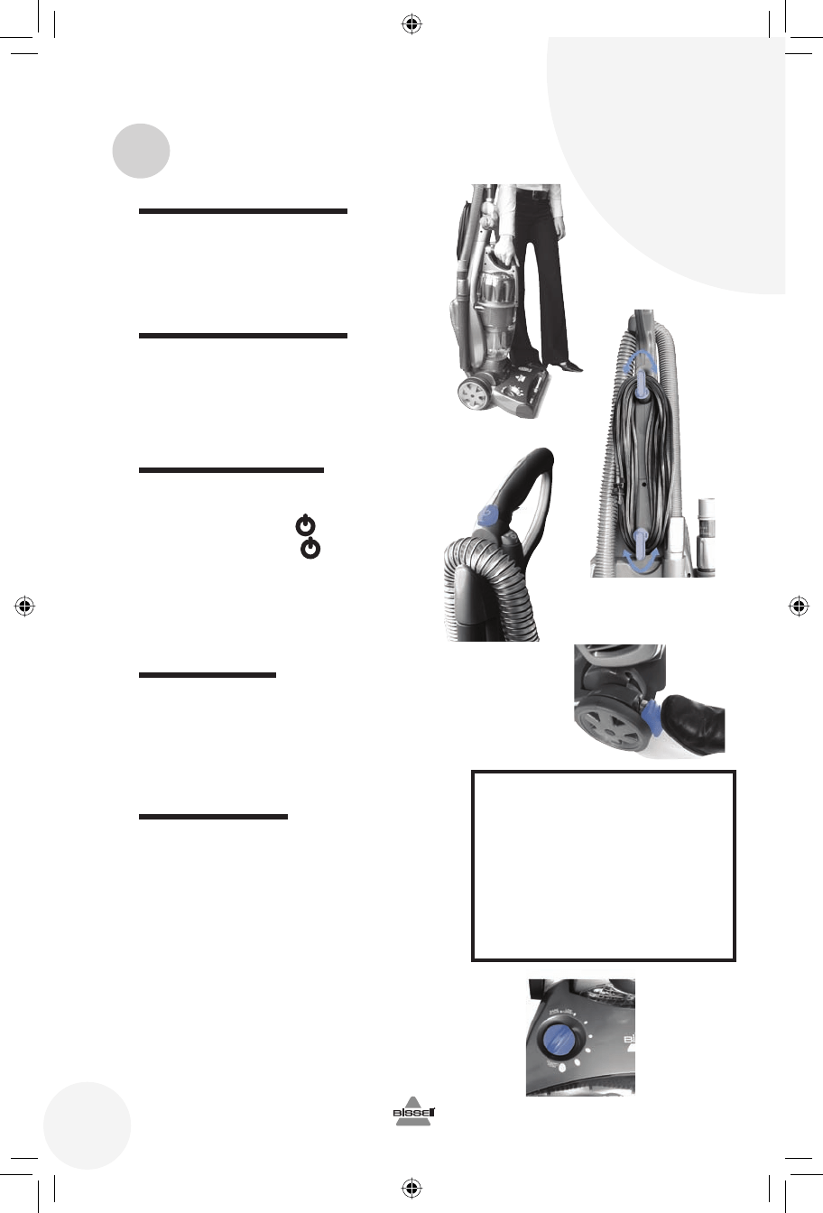 Page 6 of Bissell Vacuum Cleaner 5770 User Guide