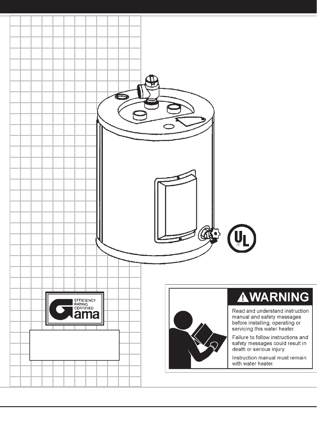State Industries Water Heater 184735-000 User Guide