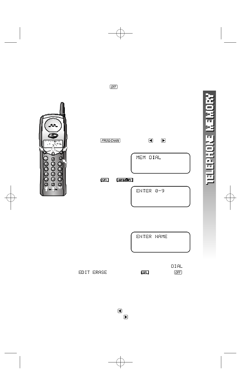 Page 14 of AT&T Cordless Telephone 1160 User Guide