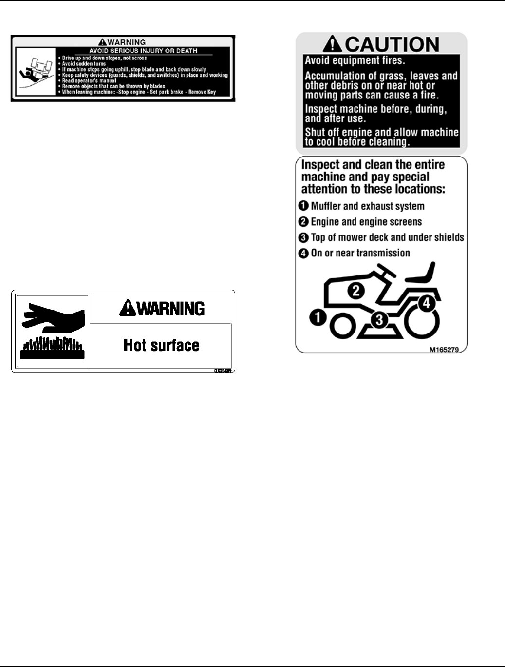 Page 7 of John Deere Products & Services Lawn Mower D100