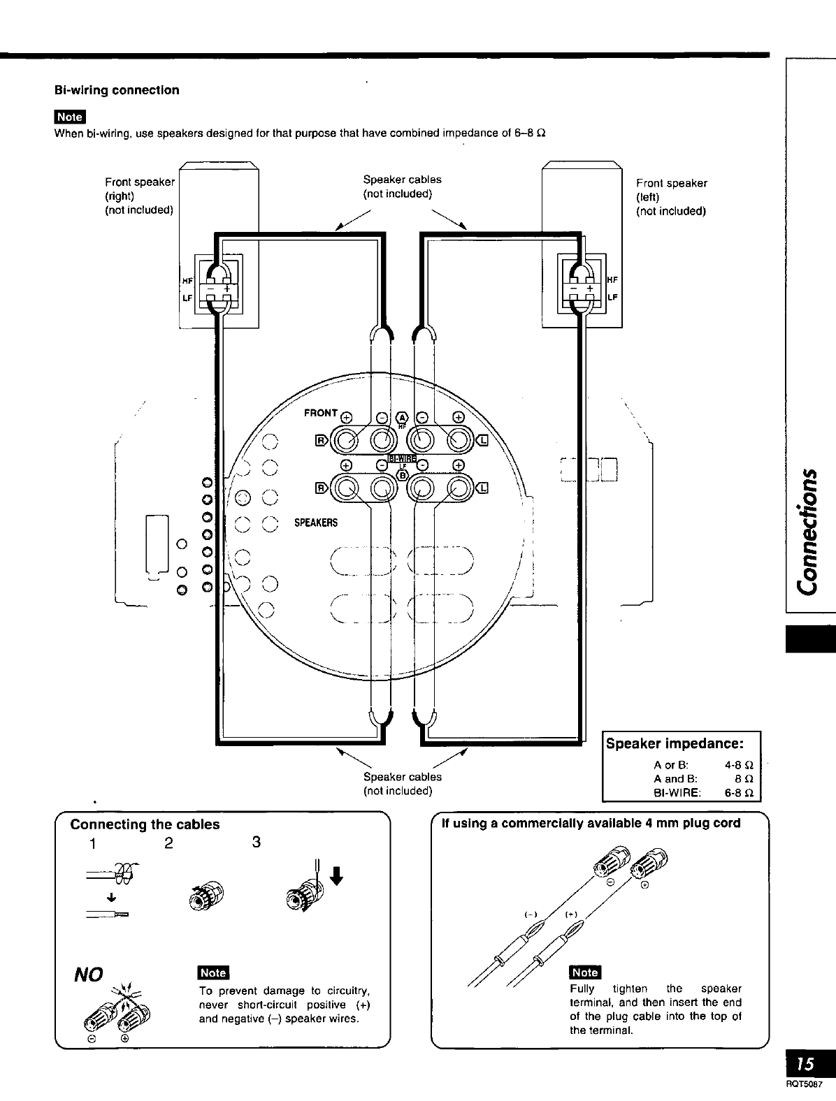 Page 15 of Technics Stereo System SA-AX7 User Guide