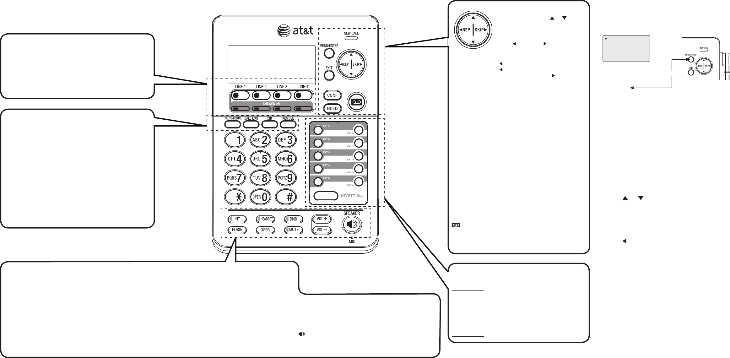 Page 2 of AT&T Telephone SB67158 User Guide